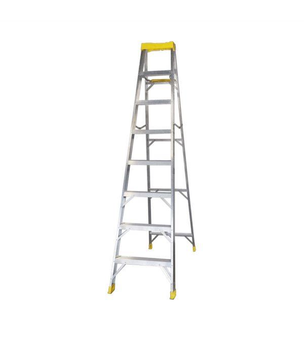 Escalera de tijera de aluminio
