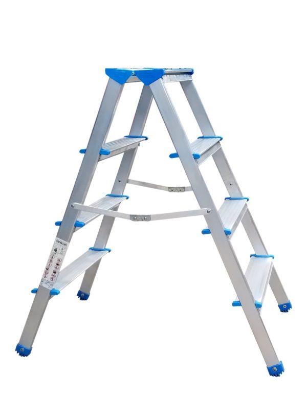escalera doble escalón