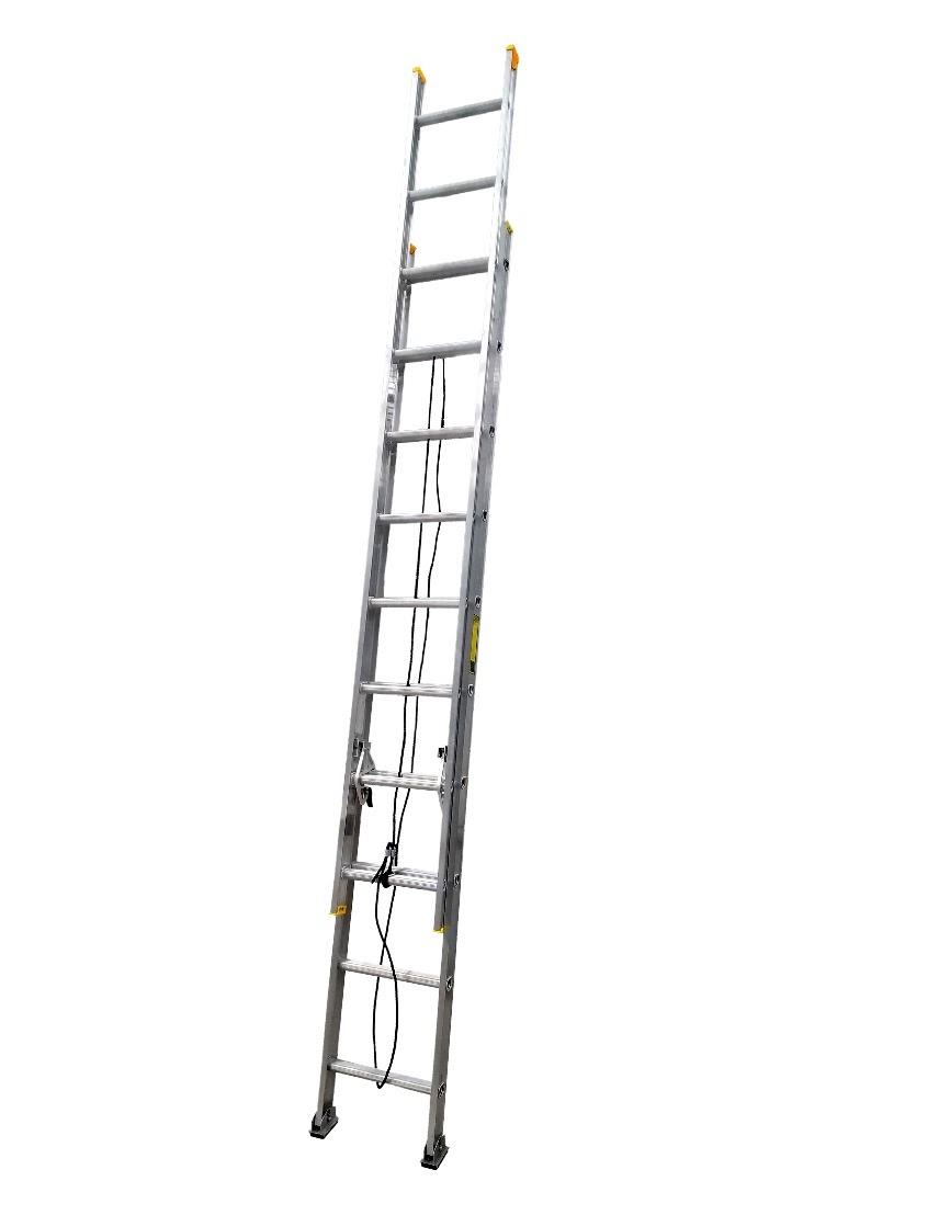 Escalera de extensión de 20 peldaños